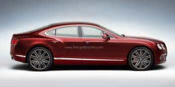 Bentley Continental Gt 4 Door Four Door Bentley Continental Coupe Rendered Gtspirit