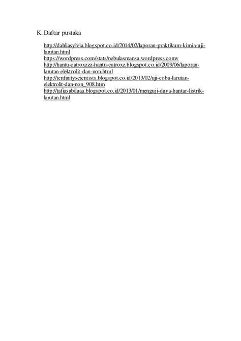 format makalah um laporan pratikum kimia tentang larutan