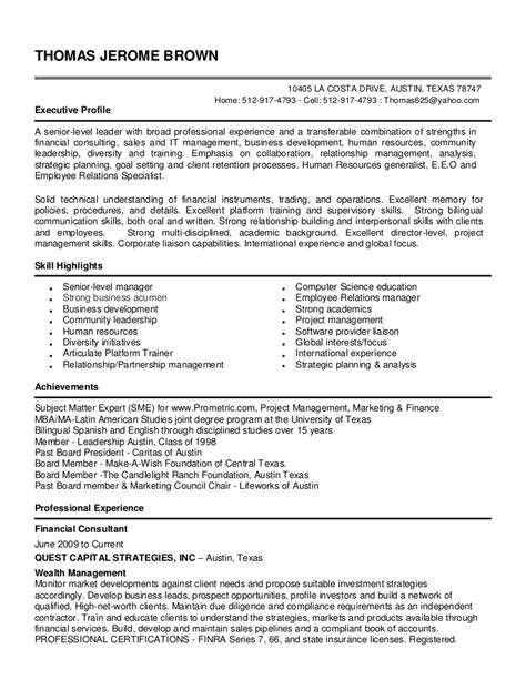 Sle Resume For Us It Recruiter Michael Kyle Resume Hr Operations Recruiting Manager