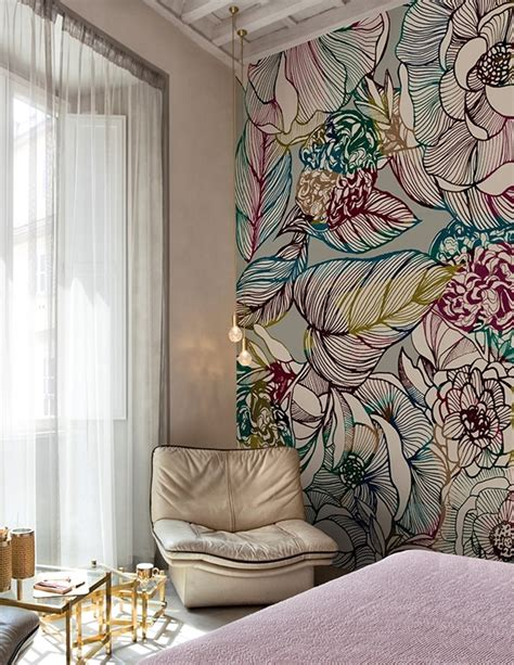 contemporary wallpaper wall dec 242