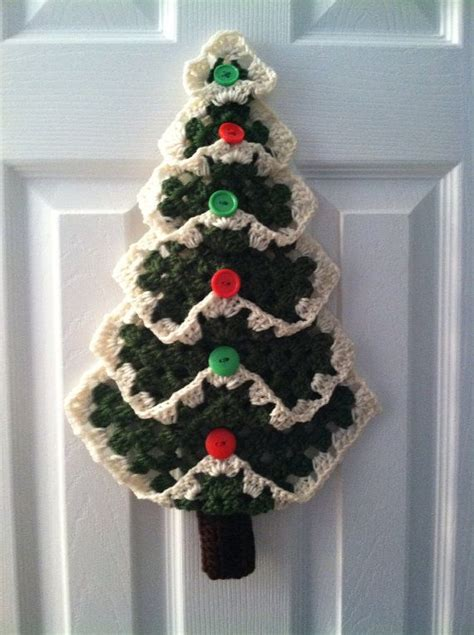 christmas tree granny square pattern granny square christmas tree by theladybugcrochet on etsy