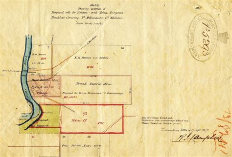 land layout sketch land records available srnsw nsw state archives