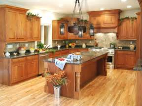 kitchens with honey oak cabinets pictures oak