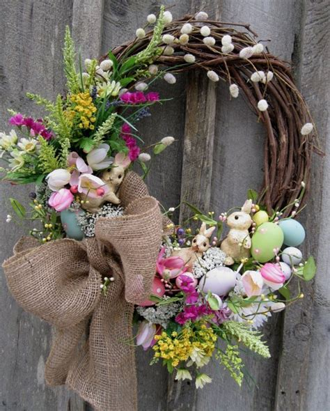 springtime wreaths 15 diy wreath ideas for easter pretty designs