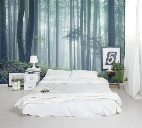 forest wall murals   serene home decor adorable home