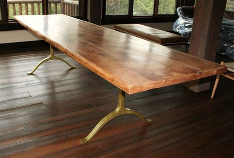 rustic wood dining room table handmade rustic dining table by echo peak design