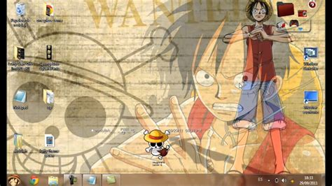 theme windows 10 one piece theme luffy one piece windows seven youtube