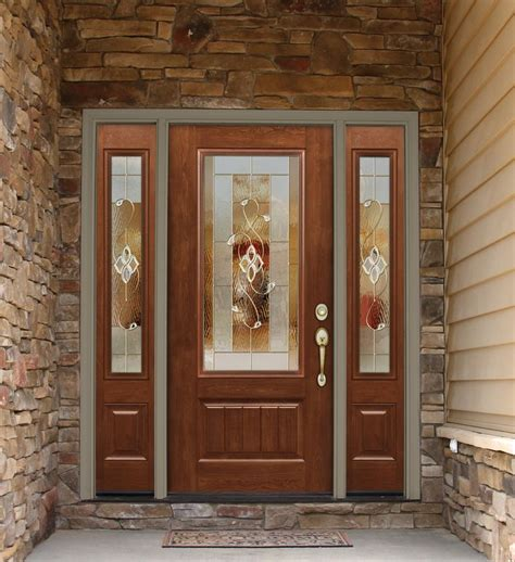 glass front doors images signet cherry fiberglass door fiberglass front doors