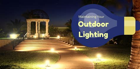 Landscape Lighting Repairs Outdoor Lighting Maintenance Landscape Lighting
