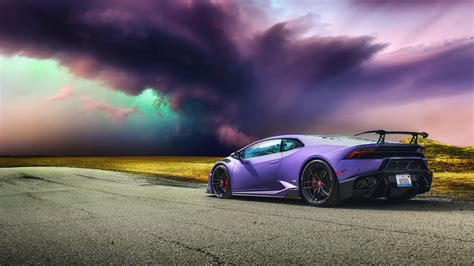 Bmw Sports Car Wallpaper With Purple Background With by Lamborghini Huracan Lamborghini Purple Car Sport Car