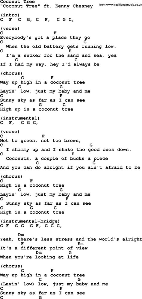 coconut song opinions on coconut tree song