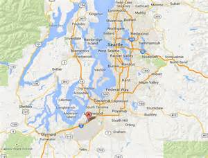 Seattle Tacoma Map by Seattle Tacoma Map Images