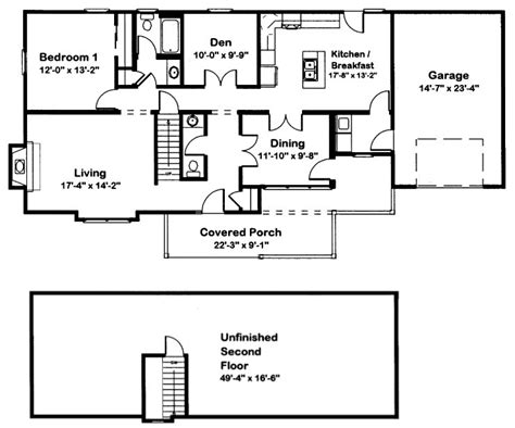 floor plans cape cod homes cape cod 1 modular home floor plan