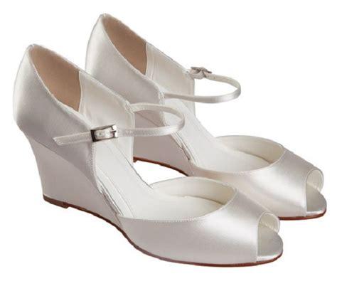 else bellini ivory dyeable wedge wedding shoes wedding