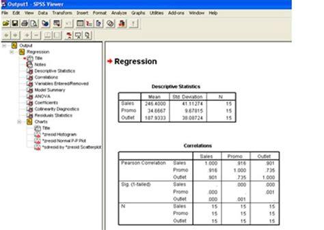 tutorial spss indonesia tutorial spss 12 0 dengan mengolah data menggunakan