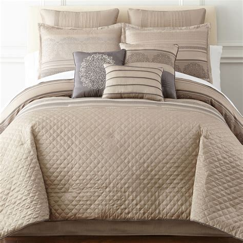 cost to dry clean a comforter buy republic neutral stripe comforter set offer bedding