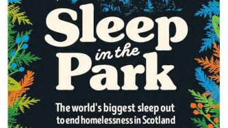heriot watt supports sleep in the park 2017 heriot watt