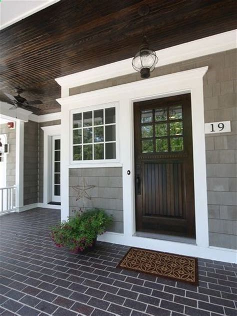blue house white trim front door best 25 gray exterior houses ideas on pinterest