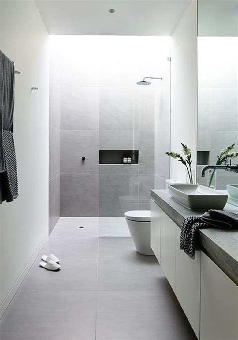 Unique Bathroom Designs by Unique Modern White Bathroom Ideas Rectangular Bathroom