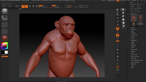 zbrush unwrap tutorial tutorial create a photoreal chimpanzee using 3ds max