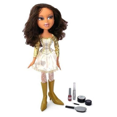Bratz Hair Style Dolls by Bratz Yasmin Doll Funky Fashion Makeover Doll 2ft