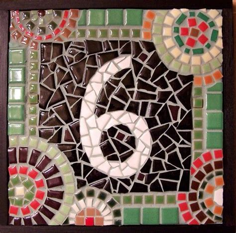 mosaic numbers pattern 17 best images about mosaic signs on pinterest vintage