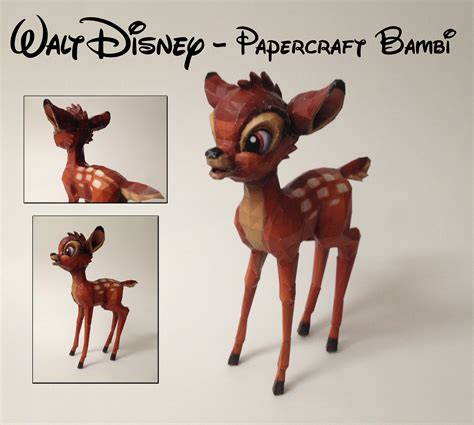 Disney Papercrafts - walt disney papercraft by wolfose on deviantart