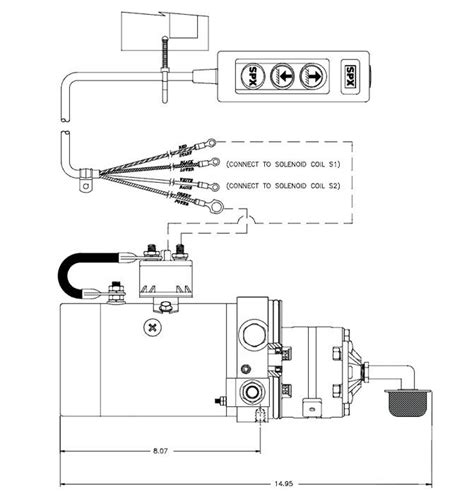 12 volt hydraulic wiring diagram fuse box and