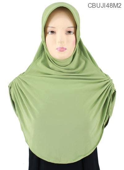 Bergo Anak Polos bergo pinguin polos jilbab pashmina murah batikunik