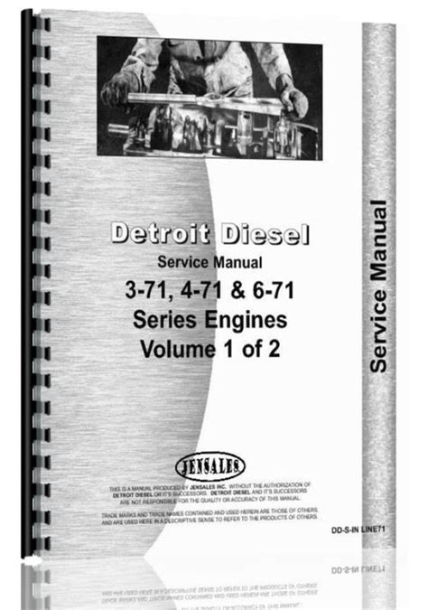 Detroit 3 71 4 71 6 71 Engine Service Manual
