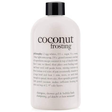Shower Gel Bubble Bath philosophy coconut frosting shampoo shower gel and bubble