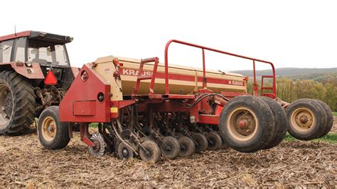 tune no till drills for better cover crop seeding