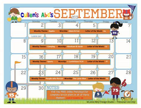 themes for photo calendar preschool calendars online preschool and children s