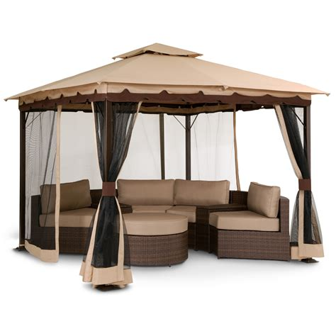screen gazebo we need this gazebo so bad omg patio bali gazebo with