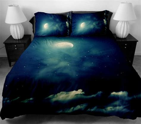 cosmos themed decor  bedroom unique bedding sets