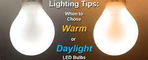 daylight l choosing daylight or warm color bulbs