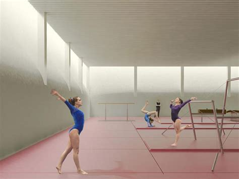 designboom gym nl architects tnw sports hall utrecht