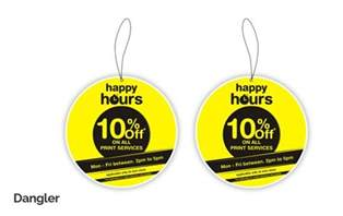 Wall Stickers Design Your Own custom promotional advertising dangler design amp printing