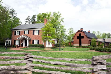 layout of will graham s house the graham family homeplace the billy graham library