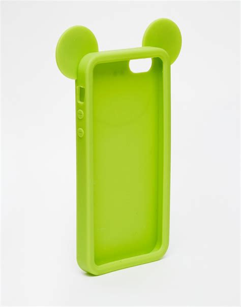 Jelly Iphone 5 1 asos frog jelly iphone 5 in green lyst