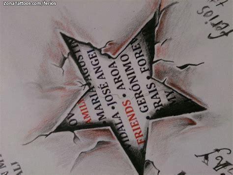 tattoo 3d estrellas dise 241 o de estrellas