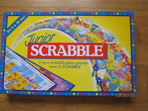 jr scrabble scrabble junior jeu 233 ducatif pour les enfants le bon