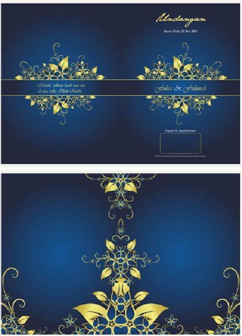background biru dongker undangan pernikahan bernuansa biru vhe novalia