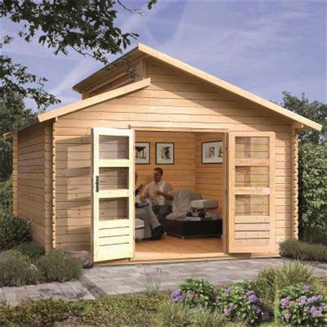 prix cabane en bois 2489 abri de jardin 13 69m 178 en bois massif brut 28mm varmland