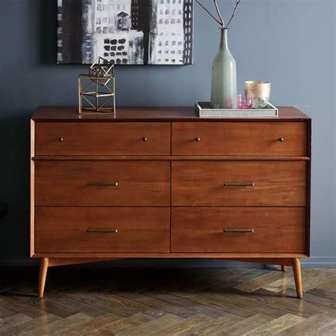 mid century dresser mid century 6 drawer dresser acorn west elm australia