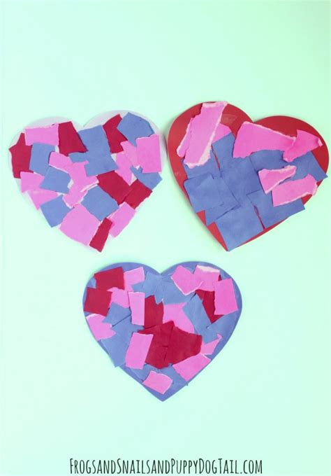 Paper Hearts Crafts - motor skill craft fspdt