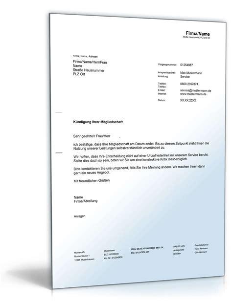 Musterbrief Kündigung Arbeitsvertrag Kostenlos Best 228 Tigung Einer K 252 Ndigung Rechtssicheres Muster Downloaden