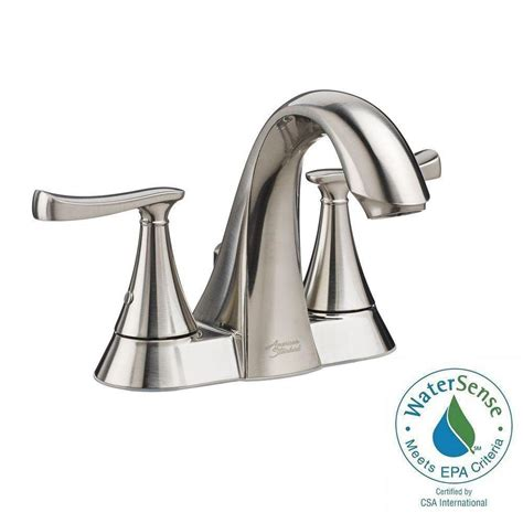 american standard faucets bathroom american standard chatfield 4 in centerset 2 handle