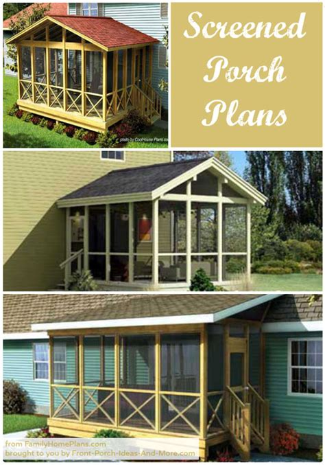 how to build a screened in patio screened in porch plans to build or modify