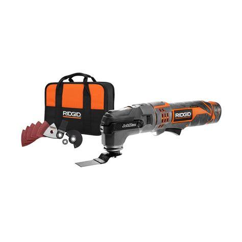 RIDGID JobMax 12 Volt Multi Tool with Tool Free Head